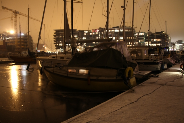Ja – jeg bor i båt og det er ikke kaldt!
