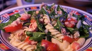 Kapteinens tunfisk- og pastasalat